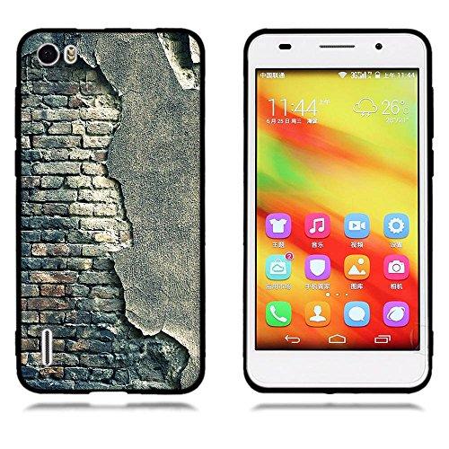 Funda Huawei Honor 6, FUBAODA [Flor rosa] caja del teléfono elegancia contemporánea que la manera 3D de diseño creativo de cuerpo completo protector Diseño Mate TPU cubierta del caucho de silicona sua pic: 19