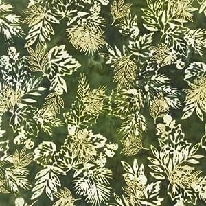 Robert Kaufman Northwoods Metallic Artisan Batik Quilt Fabric By The Yard