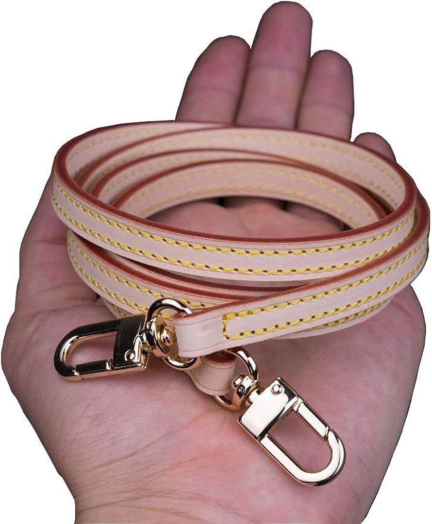 Vachetta Leather Adjustable Crossbody Strap for Small Bags Pochette Mini NM Eva Favorite PM MM Nano Speedy Width 1.2cm//0.47 inch