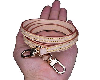 a5c45ac01108 100 110 120cm Vachetta Leather Long Cross Body Strap for Small Bags  Pochette Mini NM Eva Favorite PM MM (120cm(47.3 inches))
