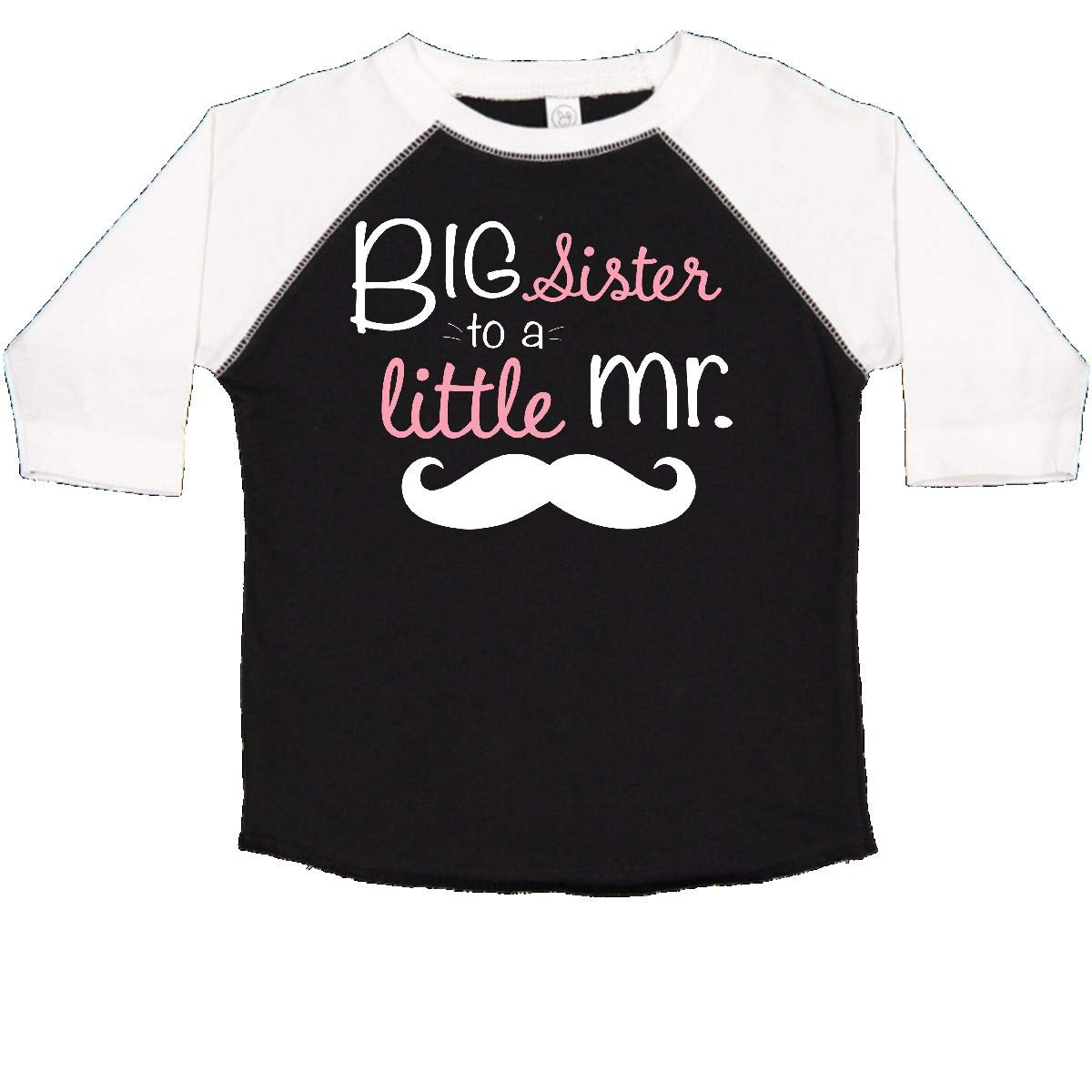 inktastic Big Sister to a Little Mr White Toddler T-Shirt