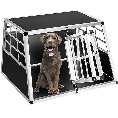 Bakaji Transportín Box perro Jaula trasportina antideslizante ...