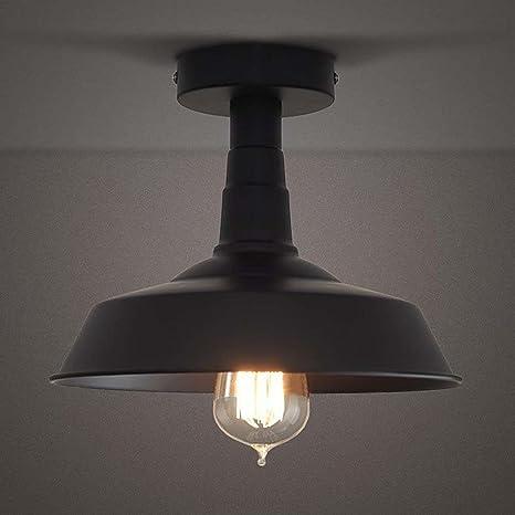 Lámpara de techo industrial, sol Run creativo retro lámpara ...