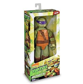 Tortugas Ninja - TMNT Mutation Figura básica Donatello, XL 28 cm (Giochi Preziosi TUA79000)