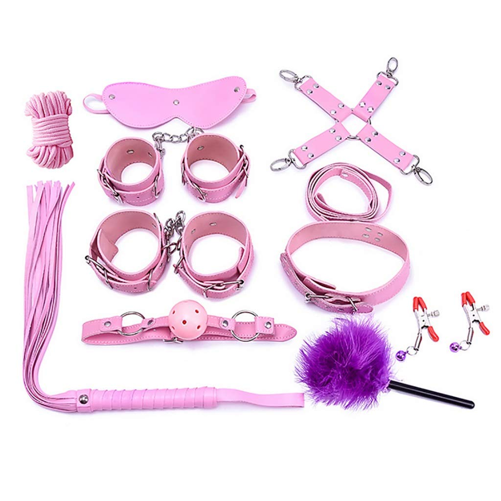 - Juguetes sexuales, esclavitud, Productos para adultos Pareja Set de juguetes sexuales Juguete alternativo Fun Leather Set Pareja de diez - 312d43