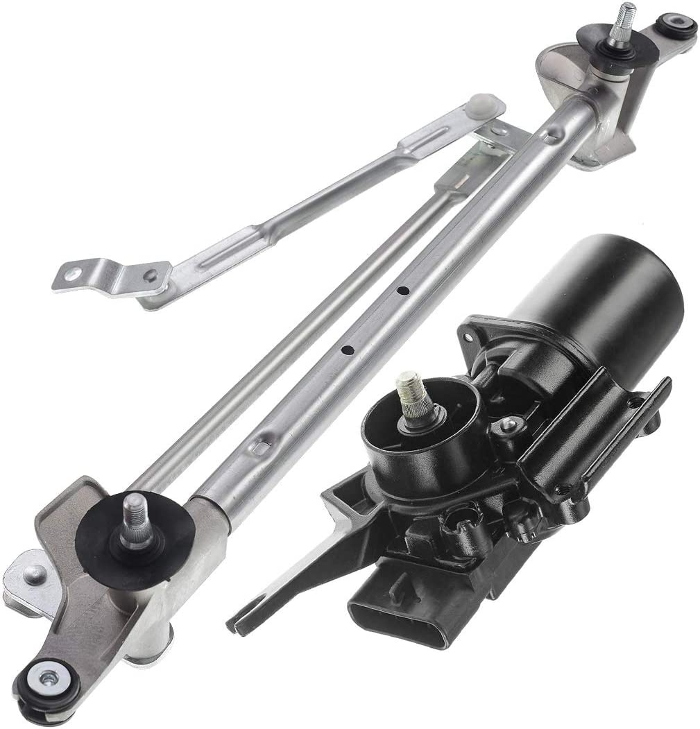 Front Windshield Wiper Transmission Linkage Assembly for 2010-2017 Chevrolet Equinox GMC Terrain