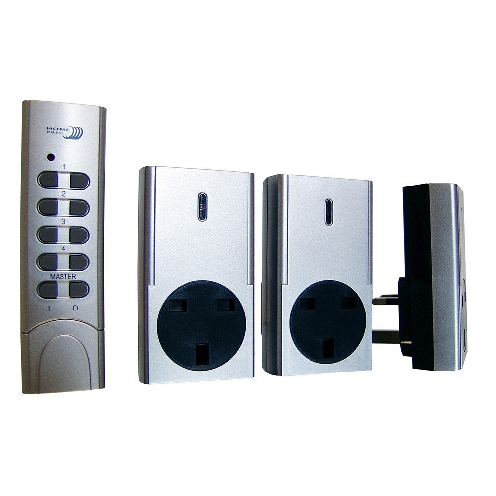 Home Easy Remote Control 3 Pack Socket Kit - Model HE830S: Amazon.co ...