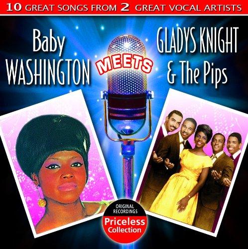 CD : BABY WASHINGTON - GLADYS KNIGHT AND THE PIPS - Baby Washington Meets Gladys Knight And The Pips (CD)