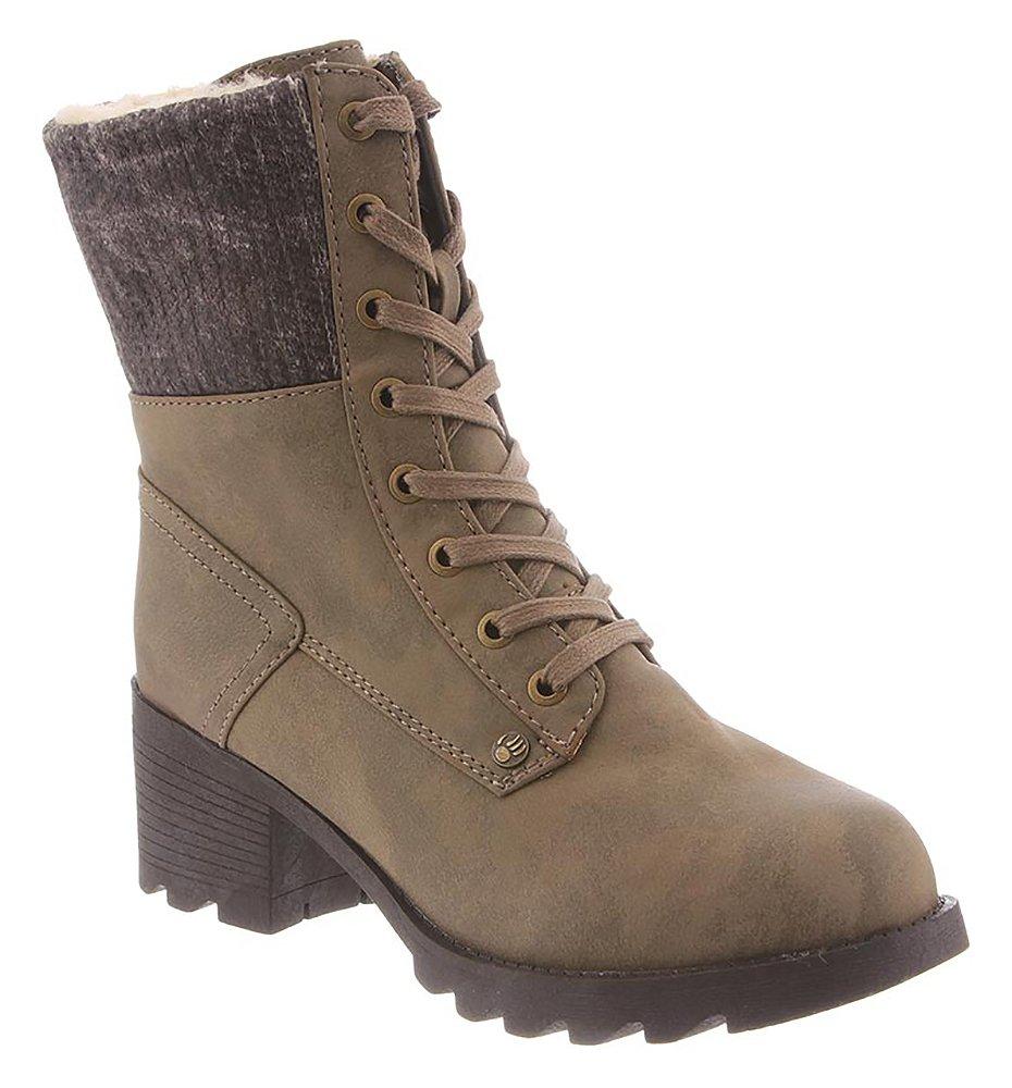 BEARPAW Women Moira Boot (10 B(M) US, Stone)