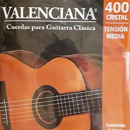 Valenciana juego de cuerdas para guitarra clásica: Amazon.es ...