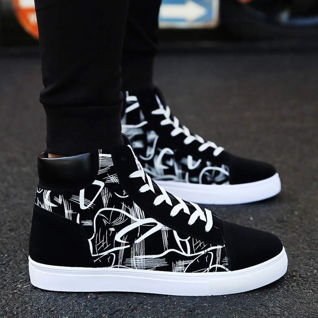 S/&H-NEEDRA Chaussure de Course Homme /étudiant Vogue Outdoor Mode Basket Montantes Sport Walking Shoes Running Comp/étition Entra/înement /édition Sneakers Mode