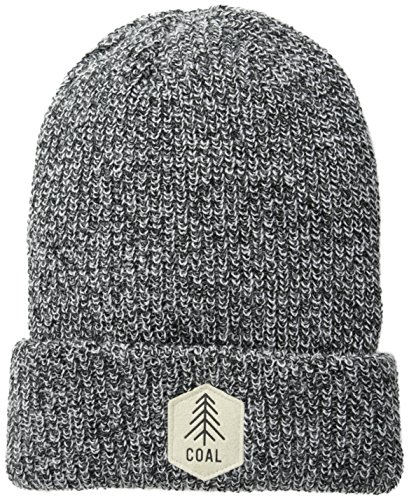 Coal Men's Scout Unisex Beanie, Black, One Size (Headwear Coal)