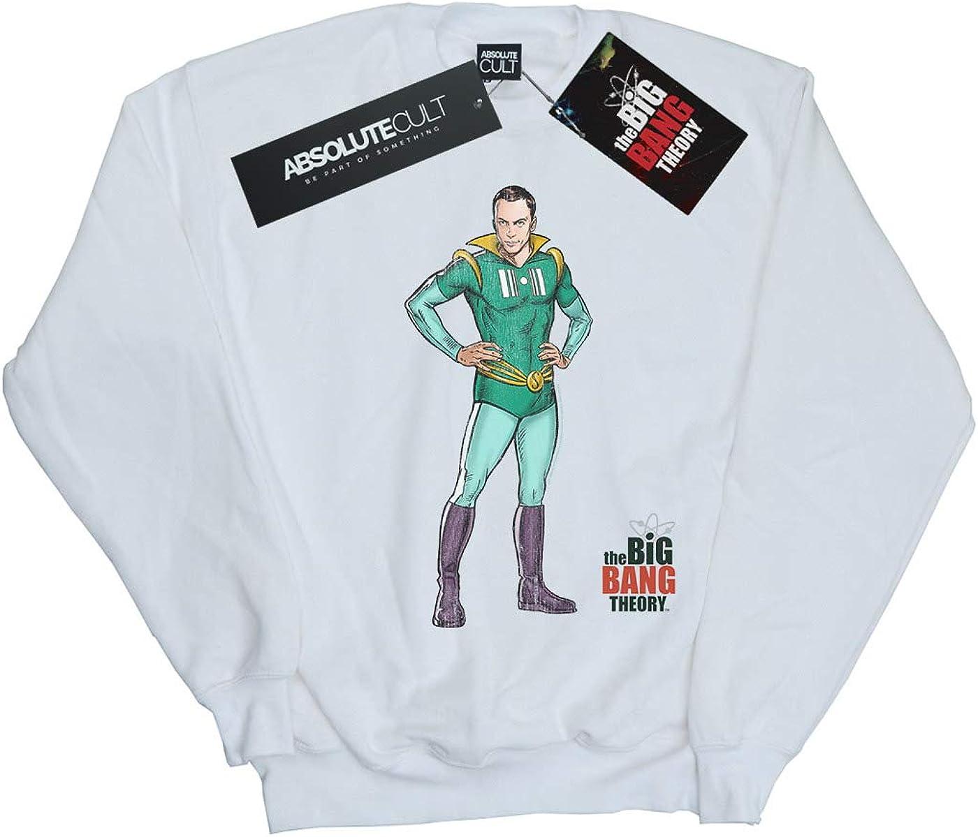The Big Bang Theory Girls Sheldon Superhero Sweatshirt