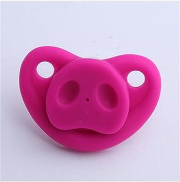 Amazon.com: okanda chupete silicona chupeta para bebe nariz ...
