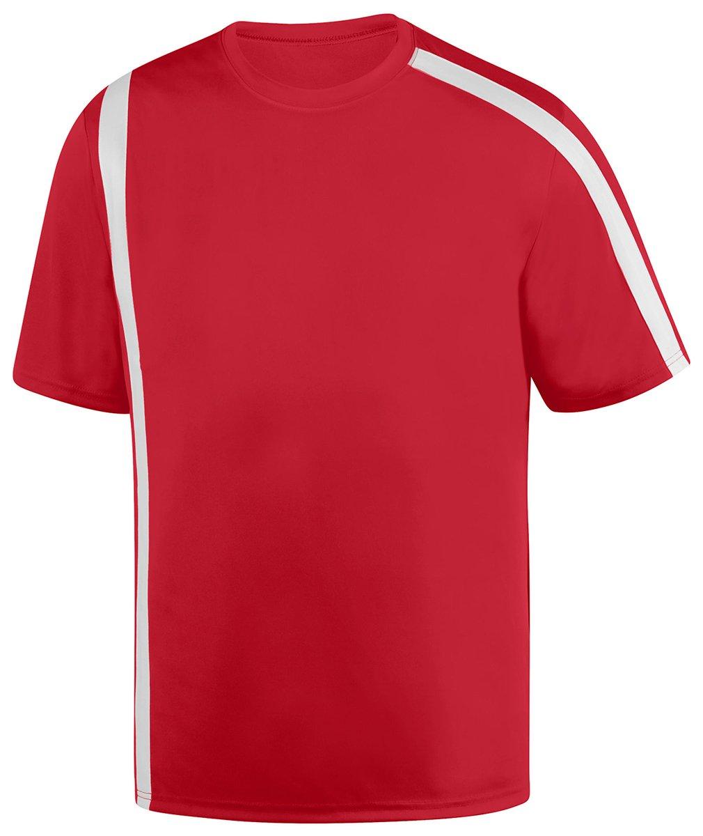 Augusta SportswearメンズAttacking Third Jersey B01DQ7EQQ2 Medium|レッド/ホワイト レッド/ホワイト Medium