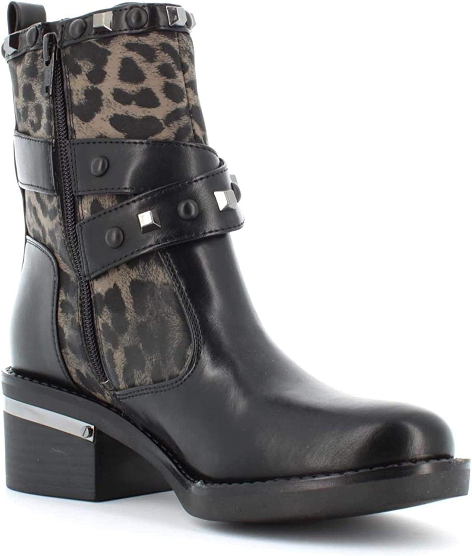 GUESS Zapatos de Mujer FL7FENELE10 Black Botines
