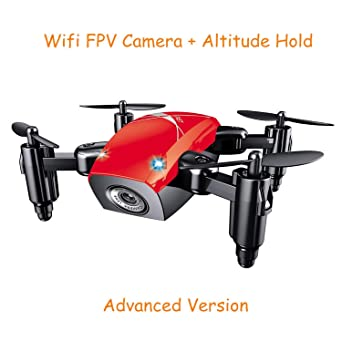 Amazon.com: S9HW Mini Drone con Cámara S9 No Cámara RC ...