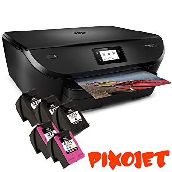 HP 62 XL aufbereitet Cartuchos de Tinta Multipack Compatible para HP Envy 5540 5640 7640, HP Officejet 5740 200 5742, HP Color Laserjet CP4025dn ...