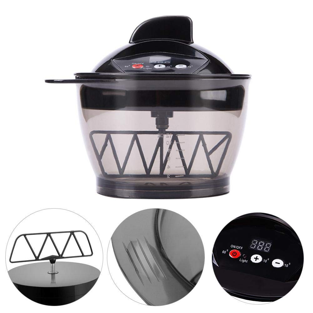 Electric Hair Cream Mixer Coloring Bowl Multifunction Hairdressing Automatic Barber Hair Dyeing Kit Home DIY Tools