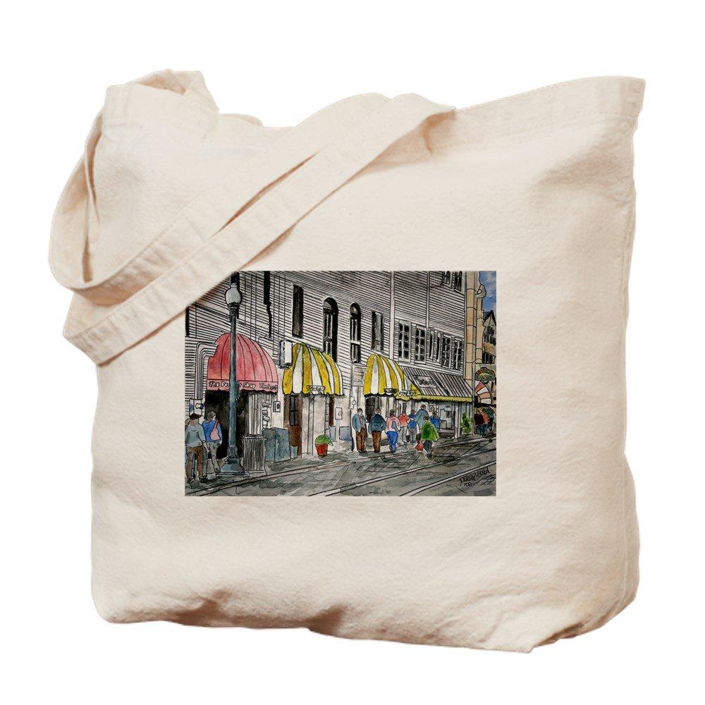 CafePress – サバンナジョージア川Street – ナチュラルキャンバストートバッグ、布ショッピングバッグ M ベージュ 03428207356893C B073QTG613 MM