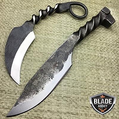 Amazon.com: NUEVO cuchillo de 2 pieza forjado a mano ...
