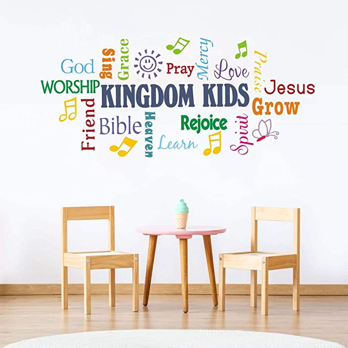 The Best Christian Wall Decor For Toddlers