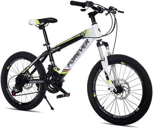 ZHIRONG Bicicleta Para Niños Azul Rojo Verde 20 Pulgadas Excursión ...