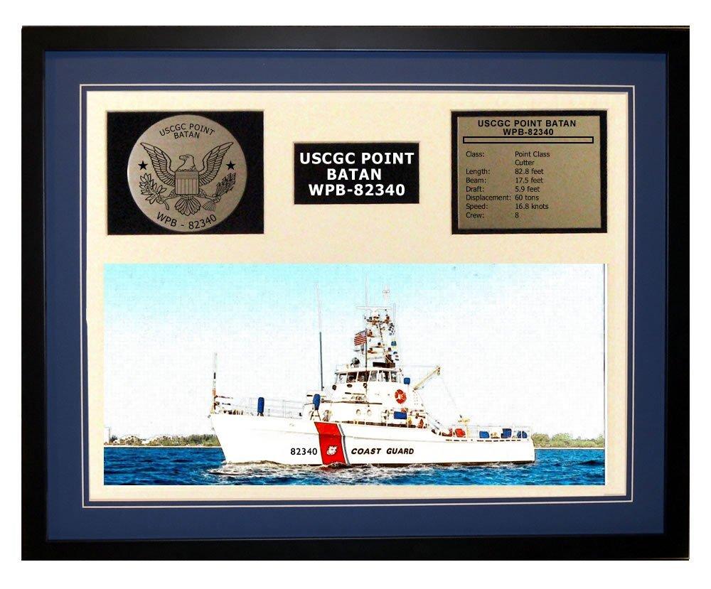 Amazon.com: USCGC Point Batan WPB-82340 Framed Coast Guard Ship ...