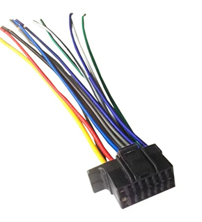 amazon com sony mex n5100bt wiring harness plug everything else rh amazon com Sony Wiring Harness Colors sony mex-n5100bt wiring harness