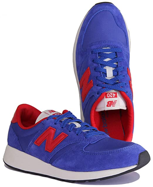 new balance blu e rosse uomo