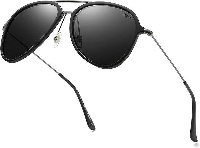 Classic Polarized Sunglasses Mens Driving Fishing Metal Glasses UV400 Eyewear