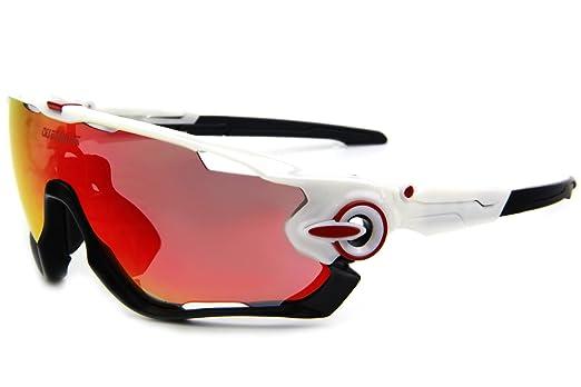 52 opinioni per Queshark TR90- Occhiali da sole con lenti polarizzate per ciclismo, sportivi,