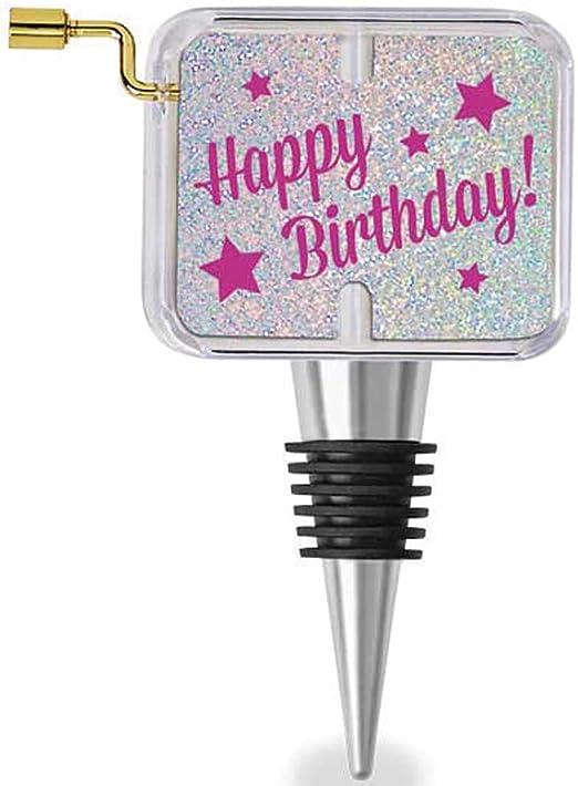 Amazon.com: Feliz cumpleaños caja de música tapón para ...