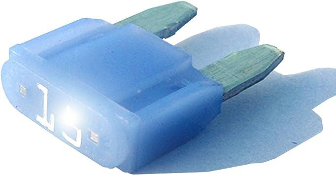 Fuses MAXI blade LED indicator GLOW WHEN BLOW smart ATO ATC fuse automotive 60A