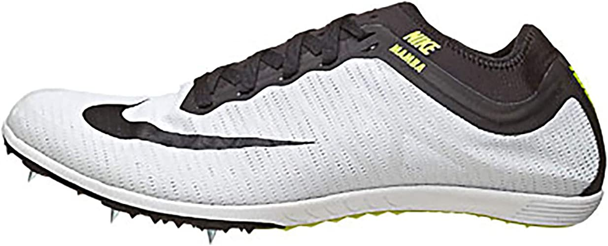 Puntuación Los Alpes sofá  Amazon.com | Nike Zoom Mamba 3 Running Spikes - 7 - Black | Running