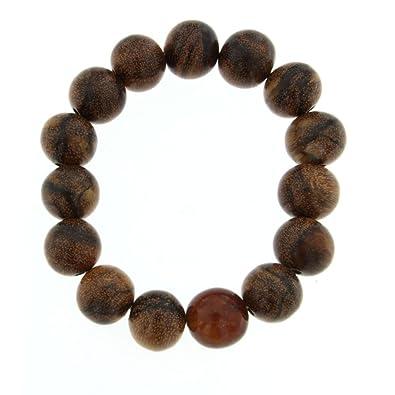 Perles Sumatra D'agar Bois Ambre Creations Starborn Bleu Et Bracelet v8mNn0w