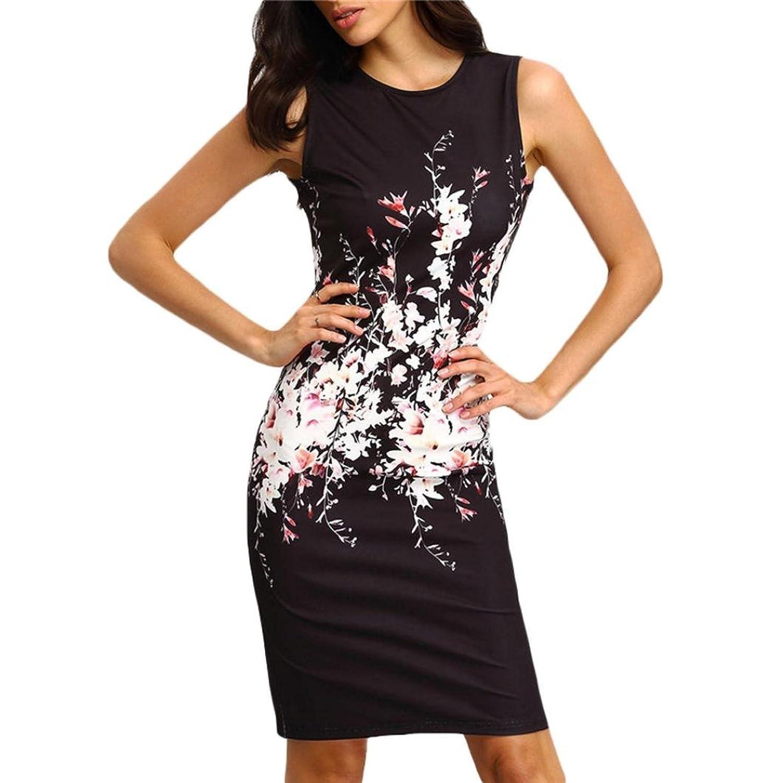 Frauen Kleid,Xinan Sommer-Frauen Sleeveless Bodycon-Dame-Abend-Partei-Kleid