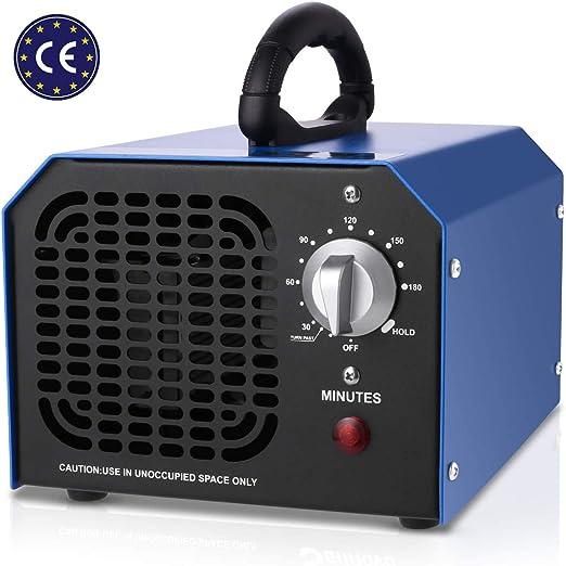 supportMe Generador de Ozono Profesional, 6,000mg/h Ozono Coche ...