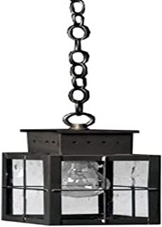 product image for Brass Traditions 432 SHBZ Small Hanging Lantern 400 Series, Bronze Finish 400 Series Hanging Lantern