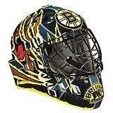 Franklin Sports NHL Boston Bruins SX Comp GFM 100 Goalie Face Mask