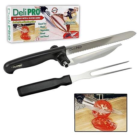 Amazon.com: Deli Pro Cuchillo y Tenedor: Kitchen & Dining