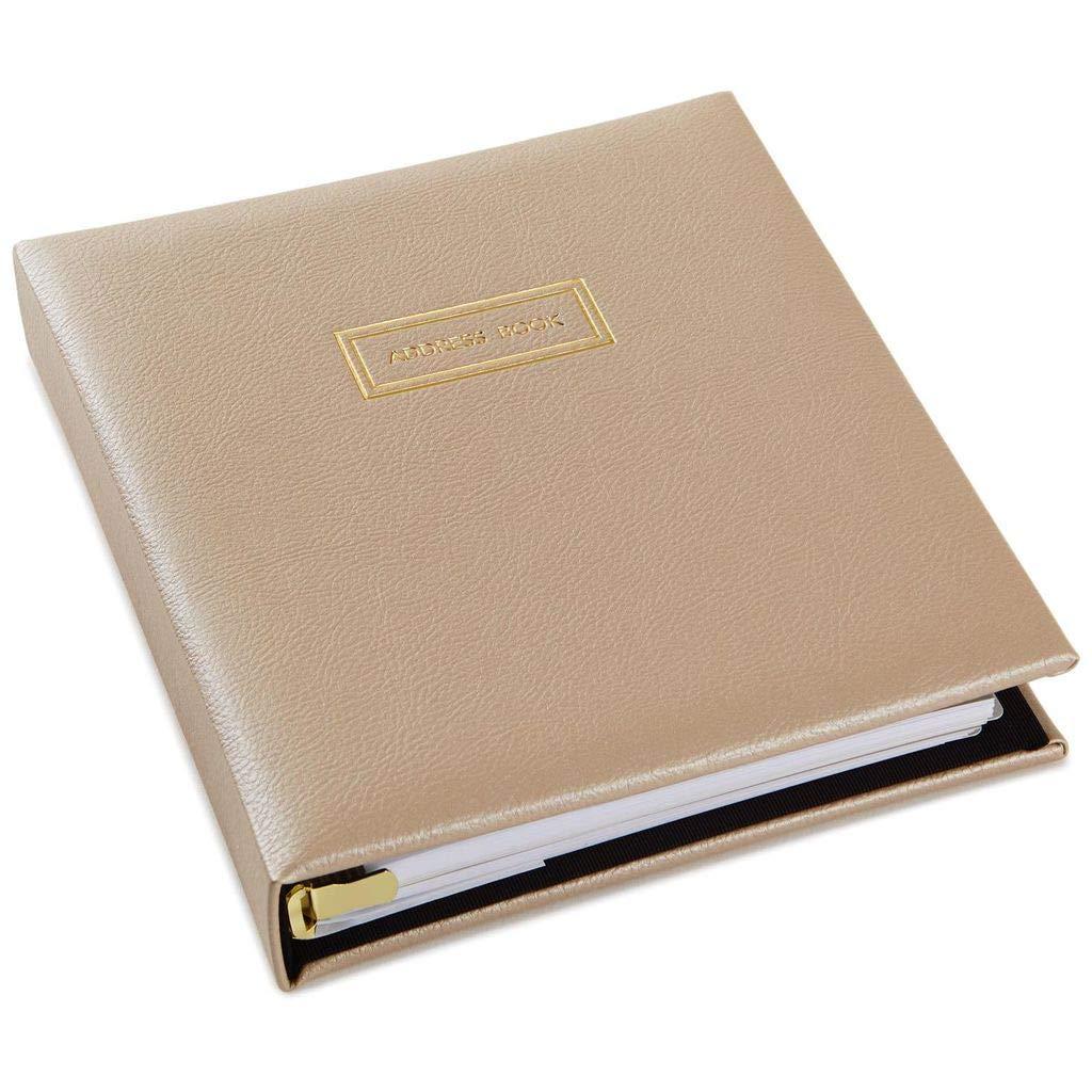 Hallmark Classic Cream Address Book by HMK
