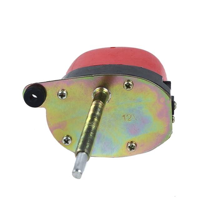 TK Car Parts 01287358 - Motor de limpiaparabrisas con eje largo Autoestacionamiento: Amazon.es: Coche y moto