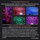 Party Lights Disco Light, Spriak Sound Activated Dj