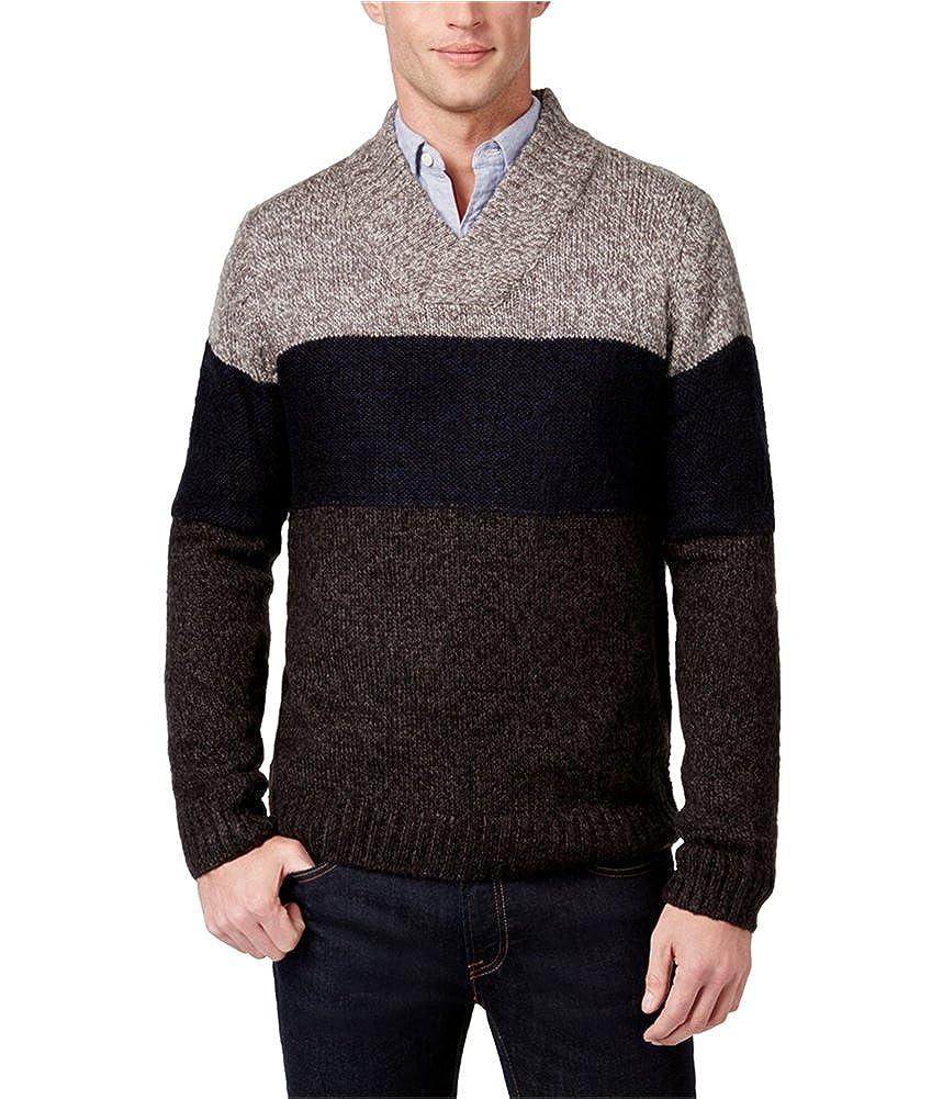 Tricots St. Raphael Mens Shawl-Collar Pullover Sweater Tricots St Raphael MAWSR8703X
