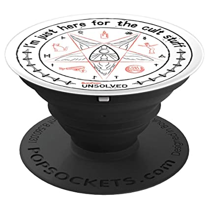 Buzz Feed Unsolved Cult Stuff Popsocket   Pop Sockets Grip And Stand For Phones And Tablets by Buzz Feed Unsolved