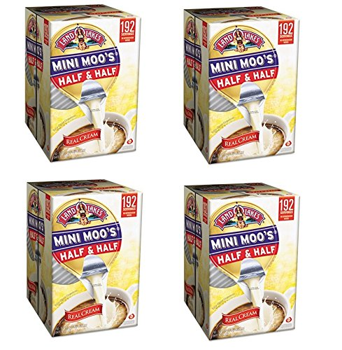 Mini Moo's Half and Half, 192/Carton, Sold as 1 Carton, 192 Each per Carton (4-boxes)