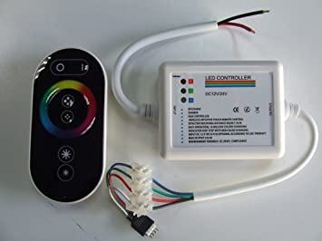 CENTRALITA RGB para strip-led con Telecom. touch-screen: Amazon.es: Coche y moto