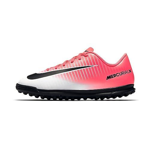 best website 35ca4 78f1a Nike Mercurial X Vortex III TF Jr 831954 601, Baskets Mixte Adulte,  Mehrfarbig (