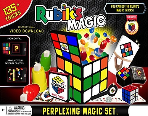 Rubik's Magic Perplexing Magic Set – Includes 135+ Tricks